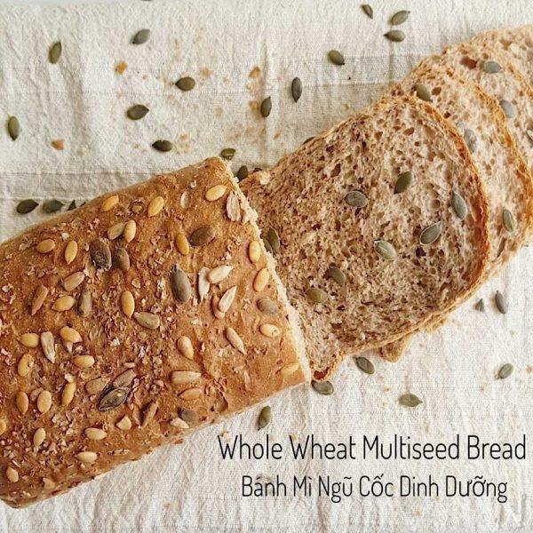 whole wheat multiseed bread